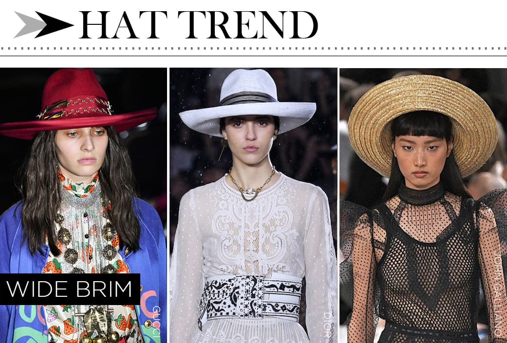 2019 Fashion Accessory - Wide Brim Hats
