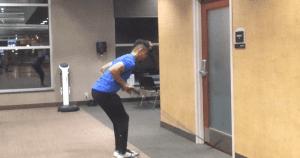 5a - Dumbbell Kick Backs