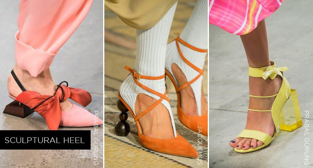 2019 Fashion Accessory - Sculptural Heel