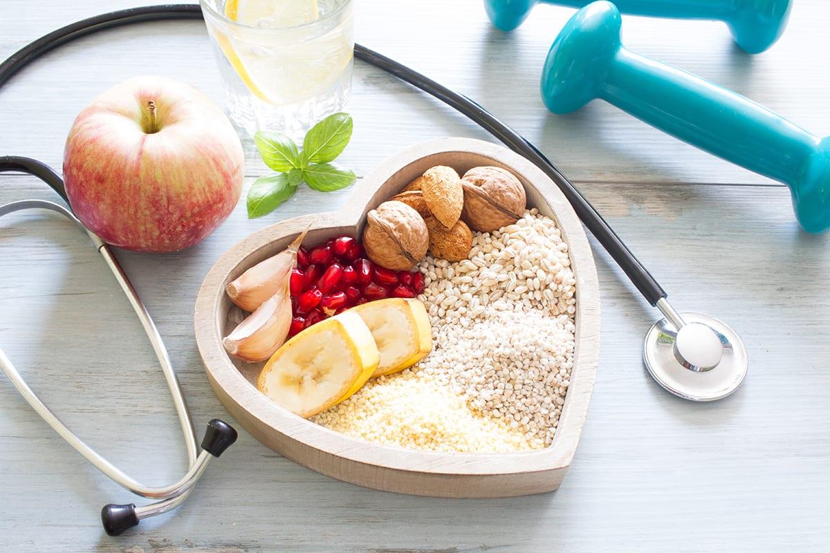 Heart Healthy Vegetarian Meal