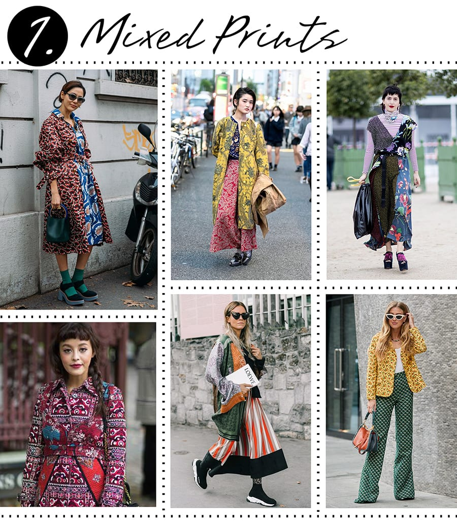 How to dress Fashionably - Mixed Prints
