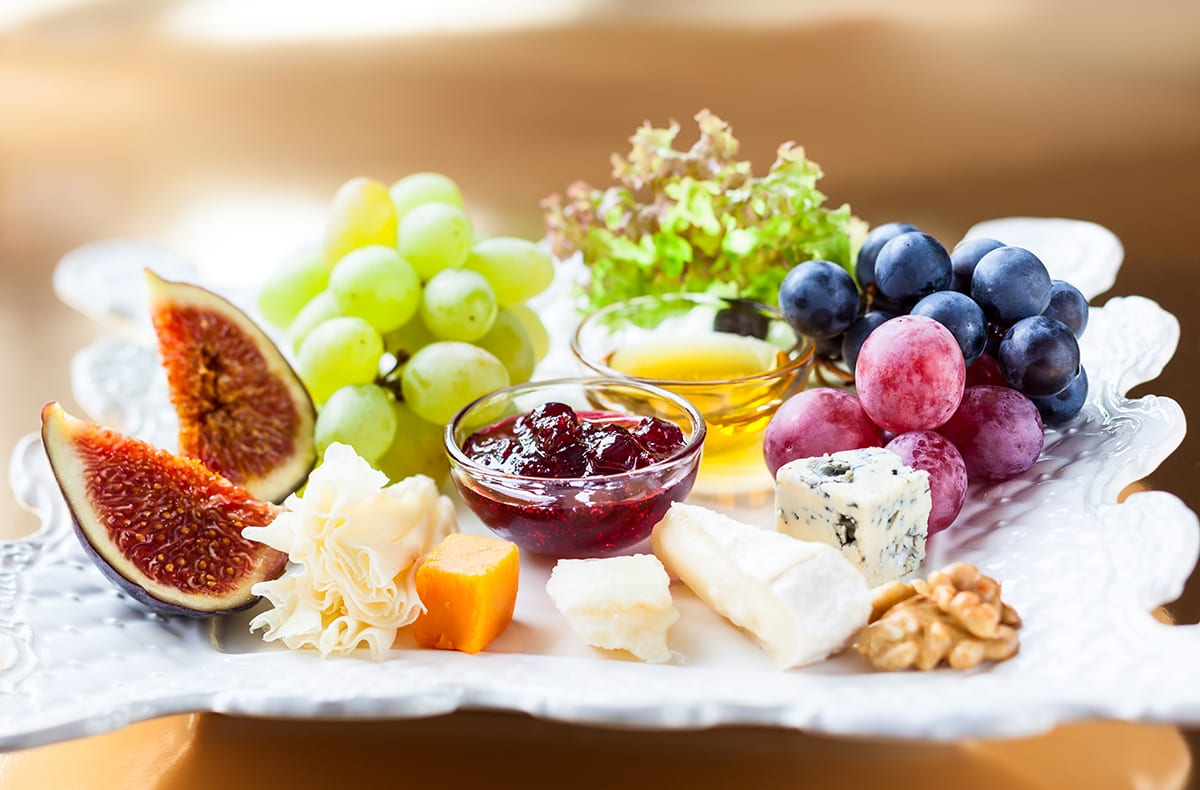 Appetizer Grazing Platter Romantic dinner ideas