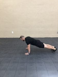 Burpees: Step 1