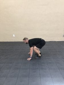 Burpees: Step 2