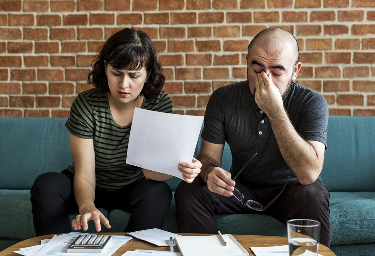 Couple in Financial Distress