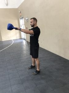 Kettle Bell Swing: Step 2