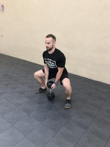 Sumo Deadlift: Step 2