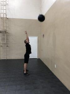 Wall Balls: Step 2