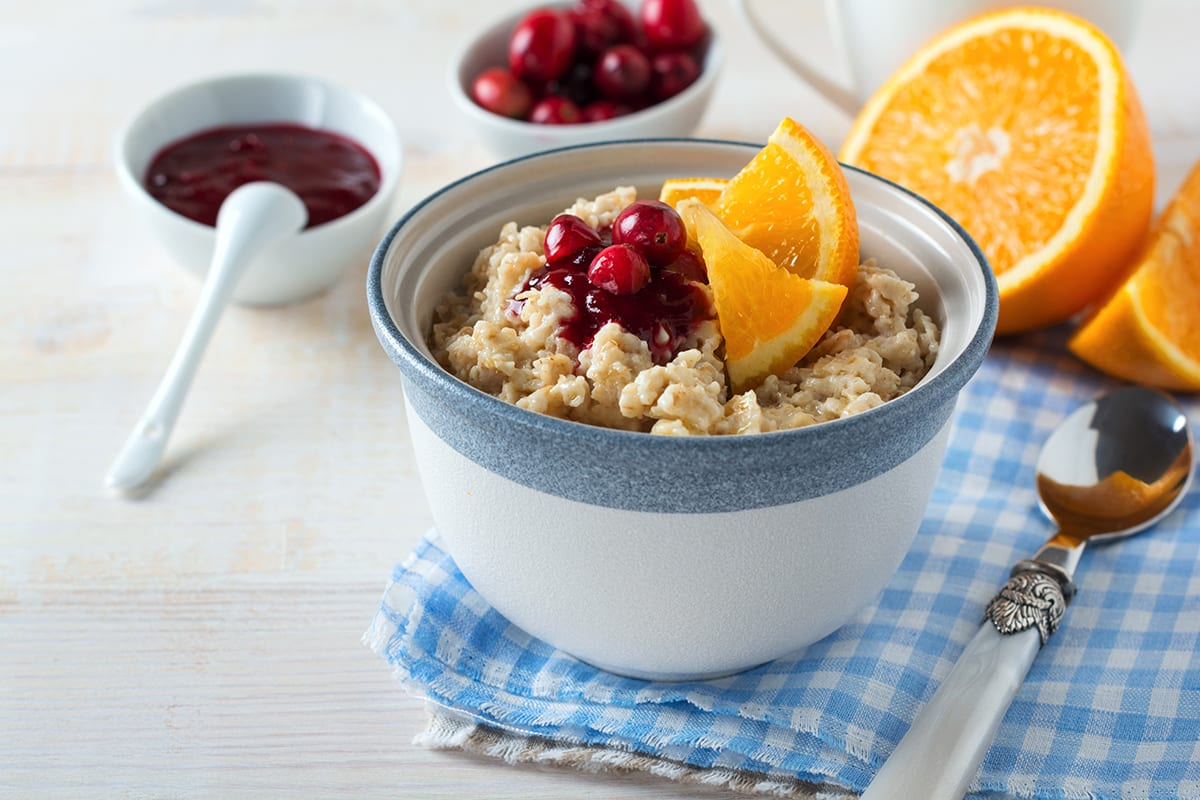 Easter Brunch - Porridge