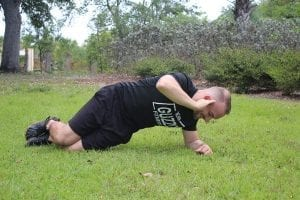 Modified Side Plank with Rotation 2