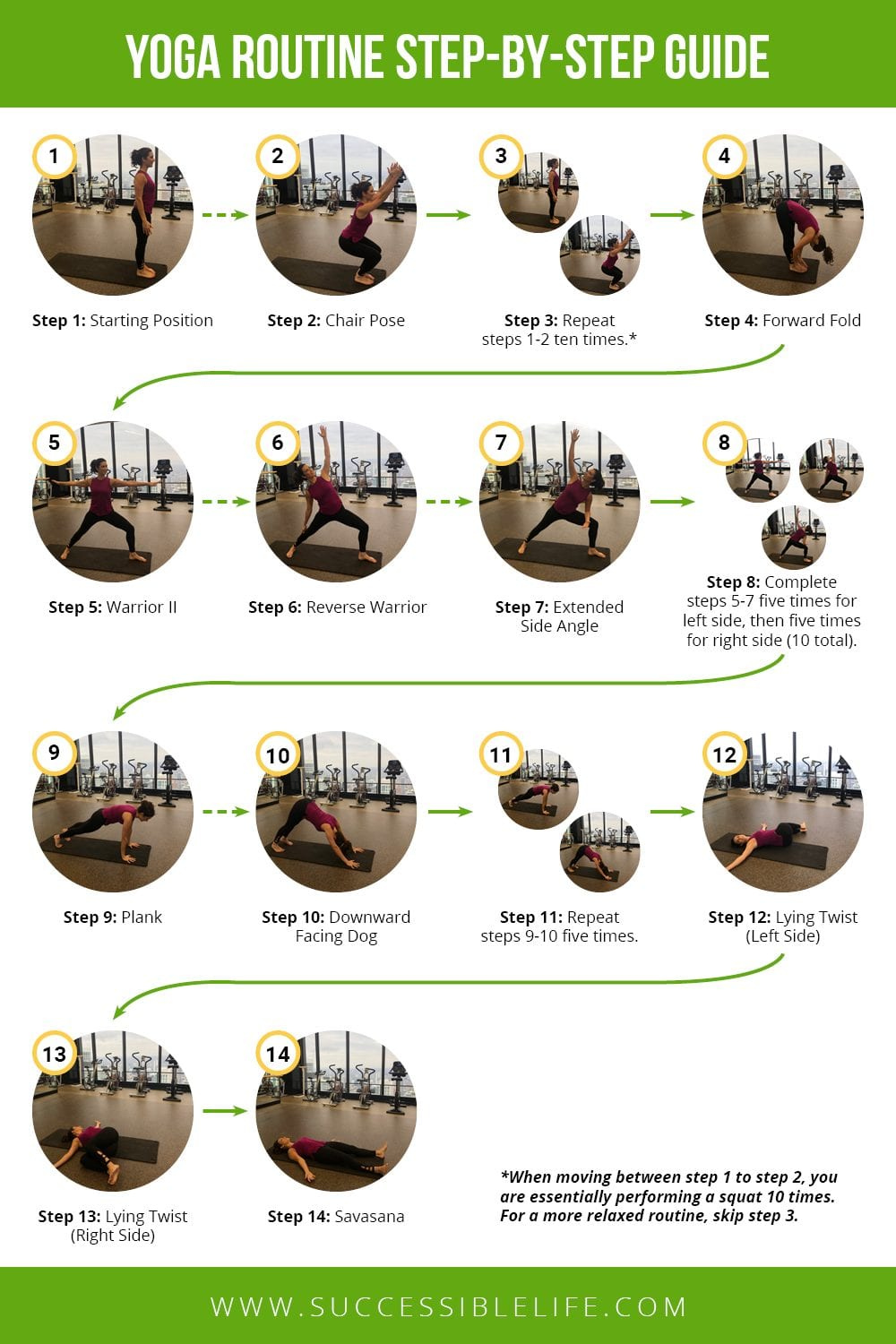 Yoga Routine Step-by-Step Guide