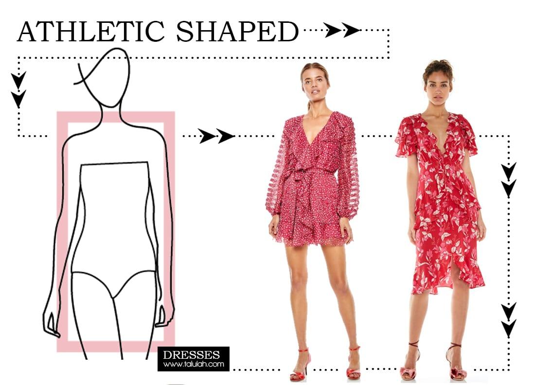 Dresses for Athletic Shape