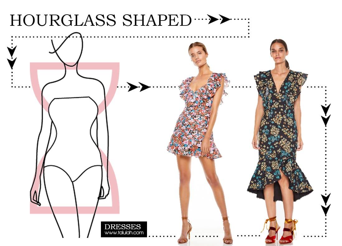 Dresses for Hourglass Shape
