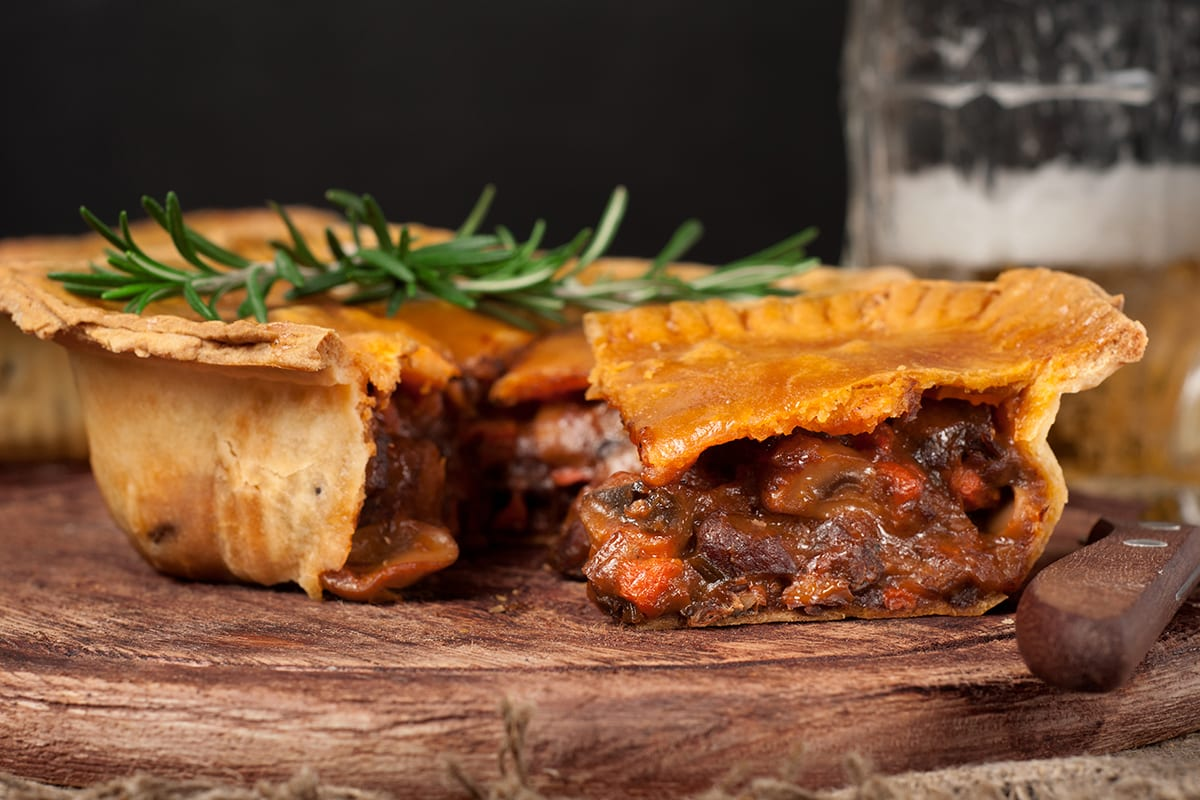 Homemade Australian Meat Pie