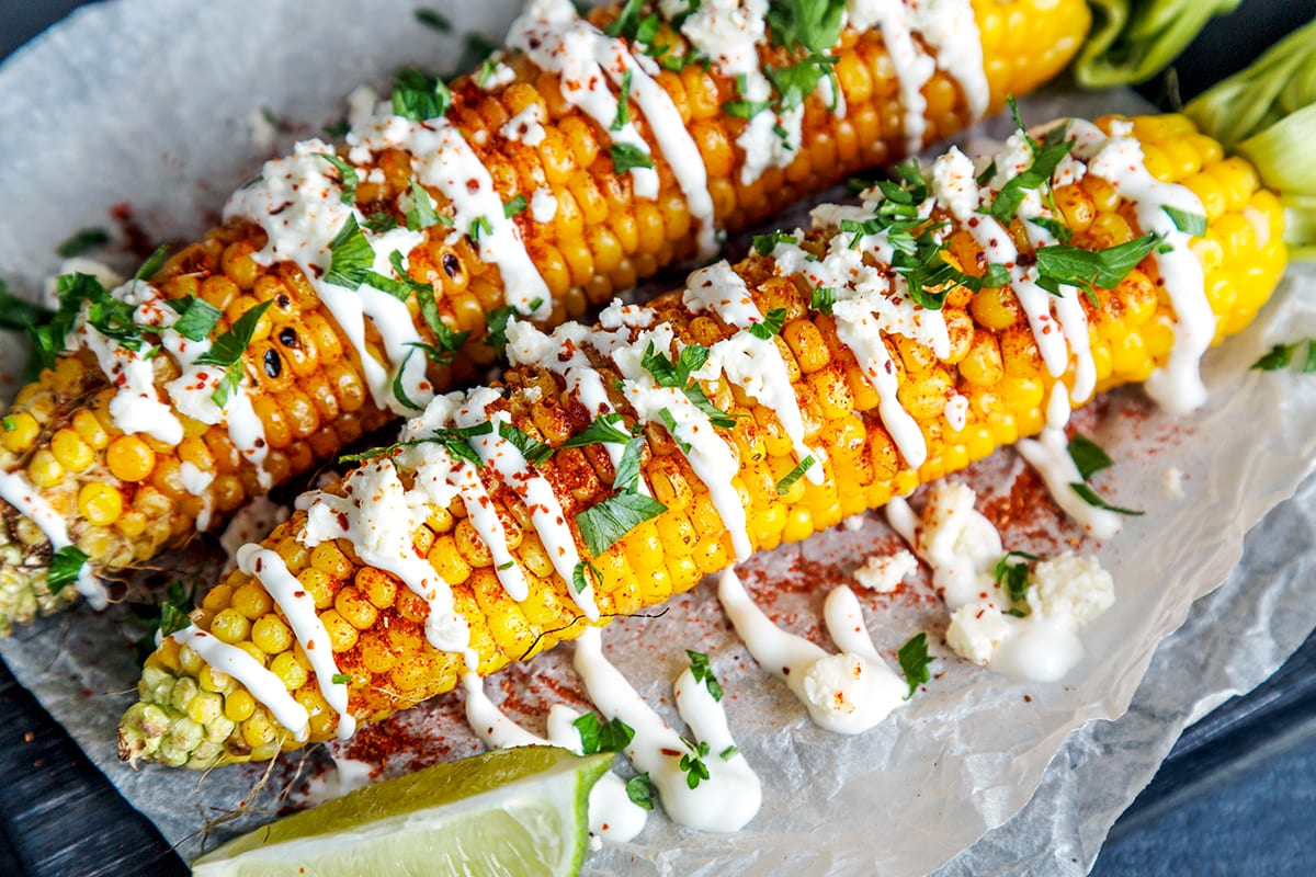Mexican Corn (Elote) how to cook corn on a cob