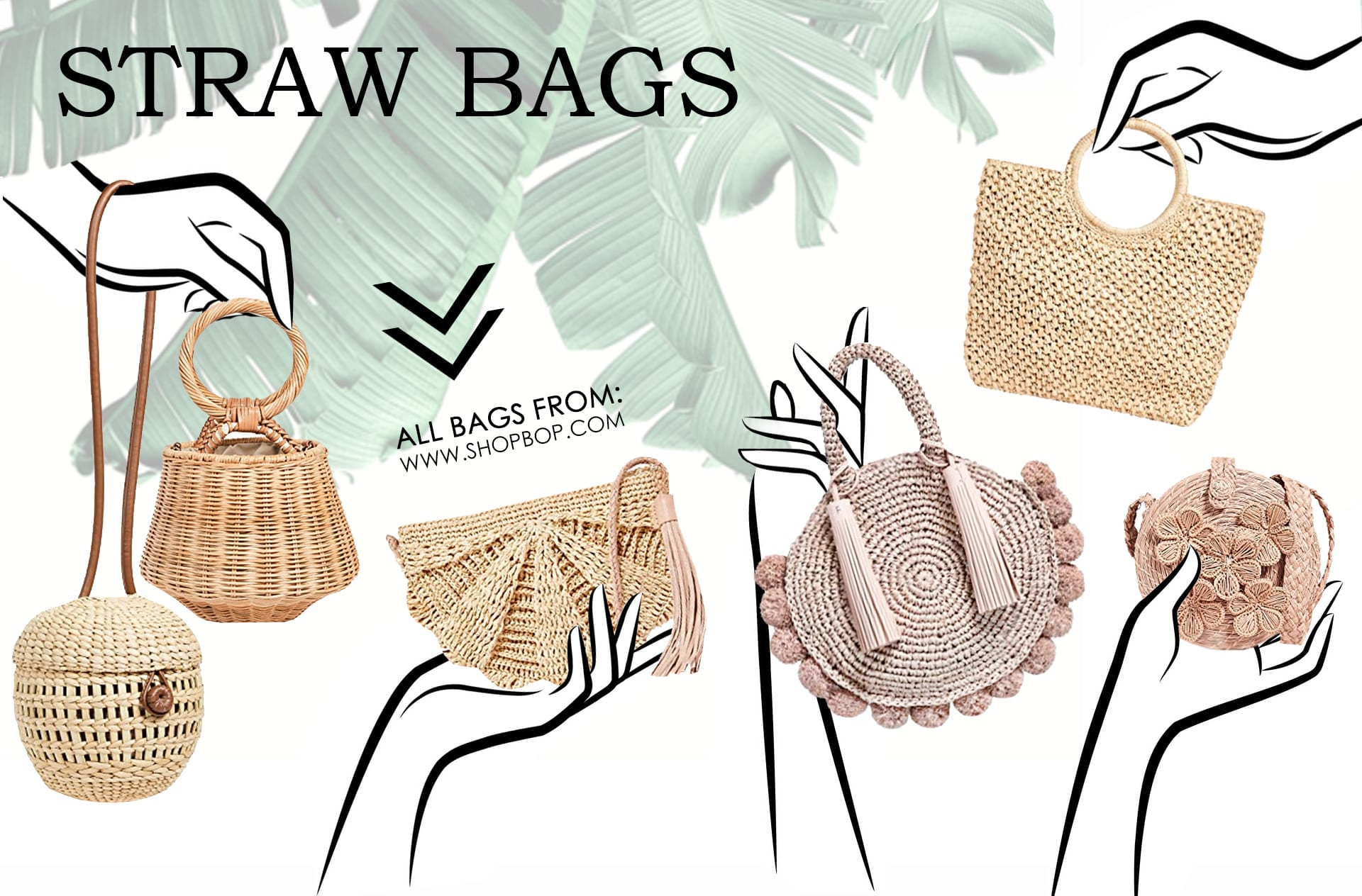 Straw Bags types of purses