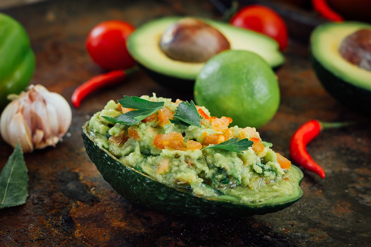 Keto Avocado Boat (Stuffed with Chicken)