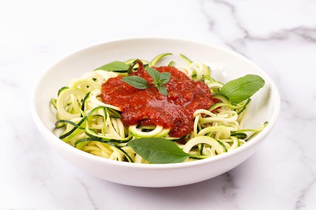 Keto Zucchini Spaghetti