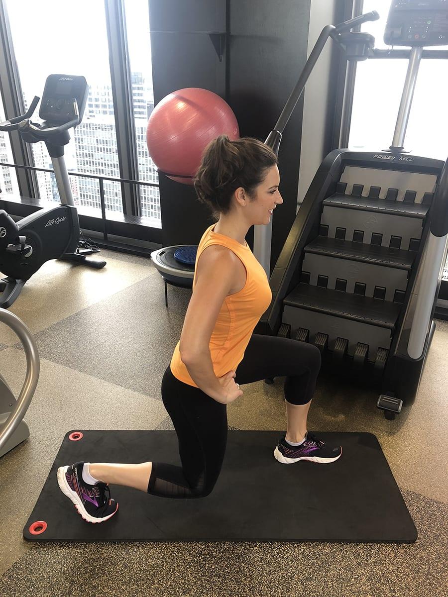 Workout Plan - Lunge