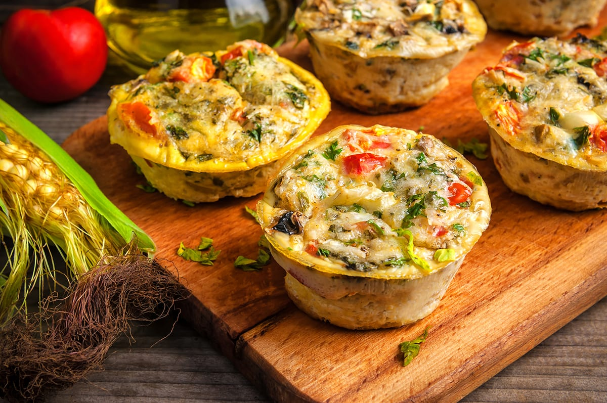 Customizable Vegetable Egg Muffins