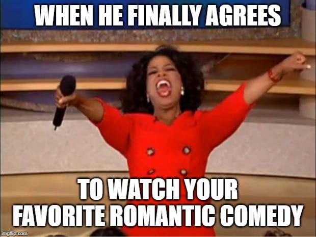 Oprah Watch Romantic Movies Meme
