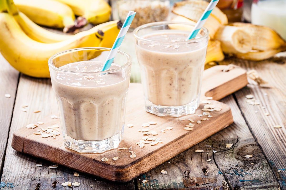 Breakfast Banana Smoothie
