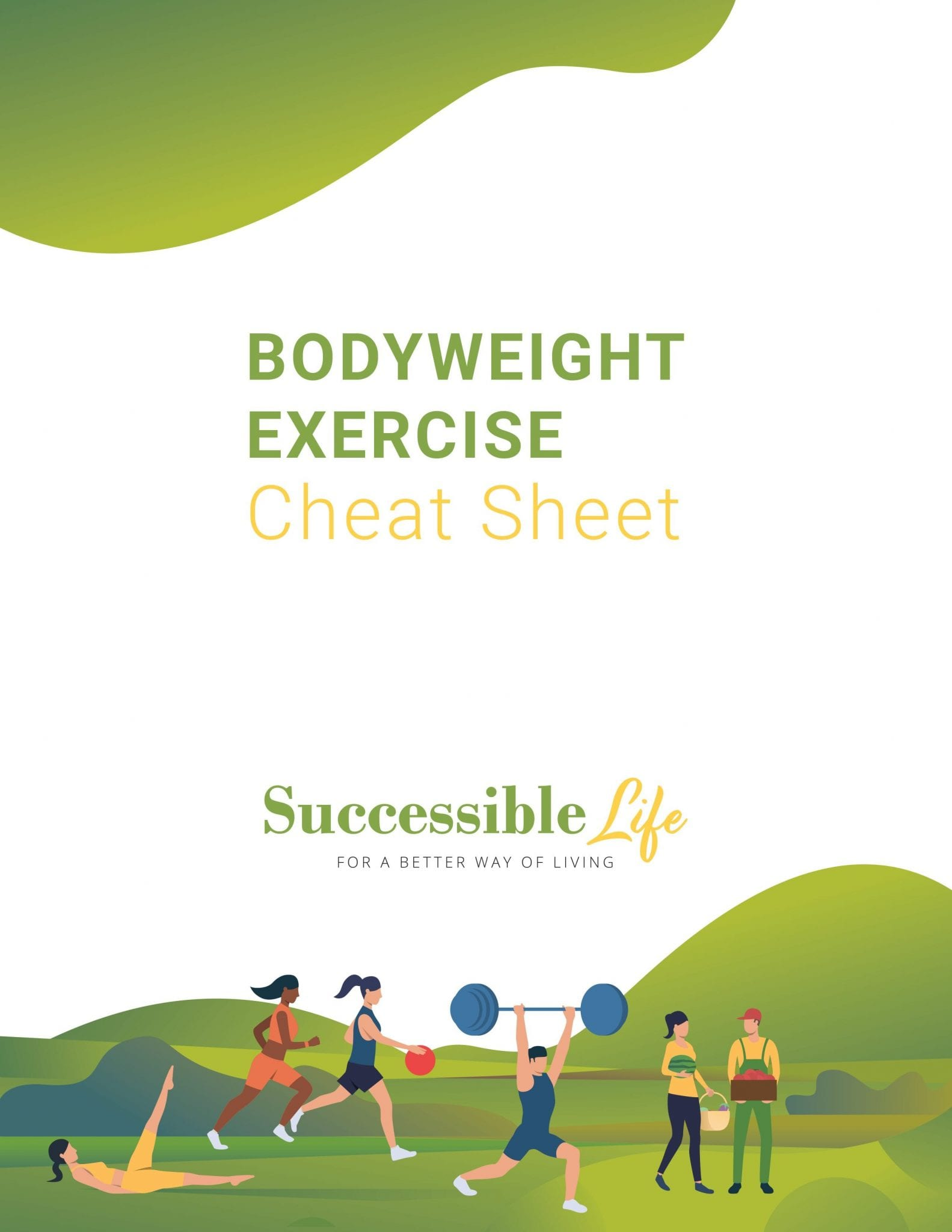 SL - Bodyweight Exercise Cheat Sheet (Cover)