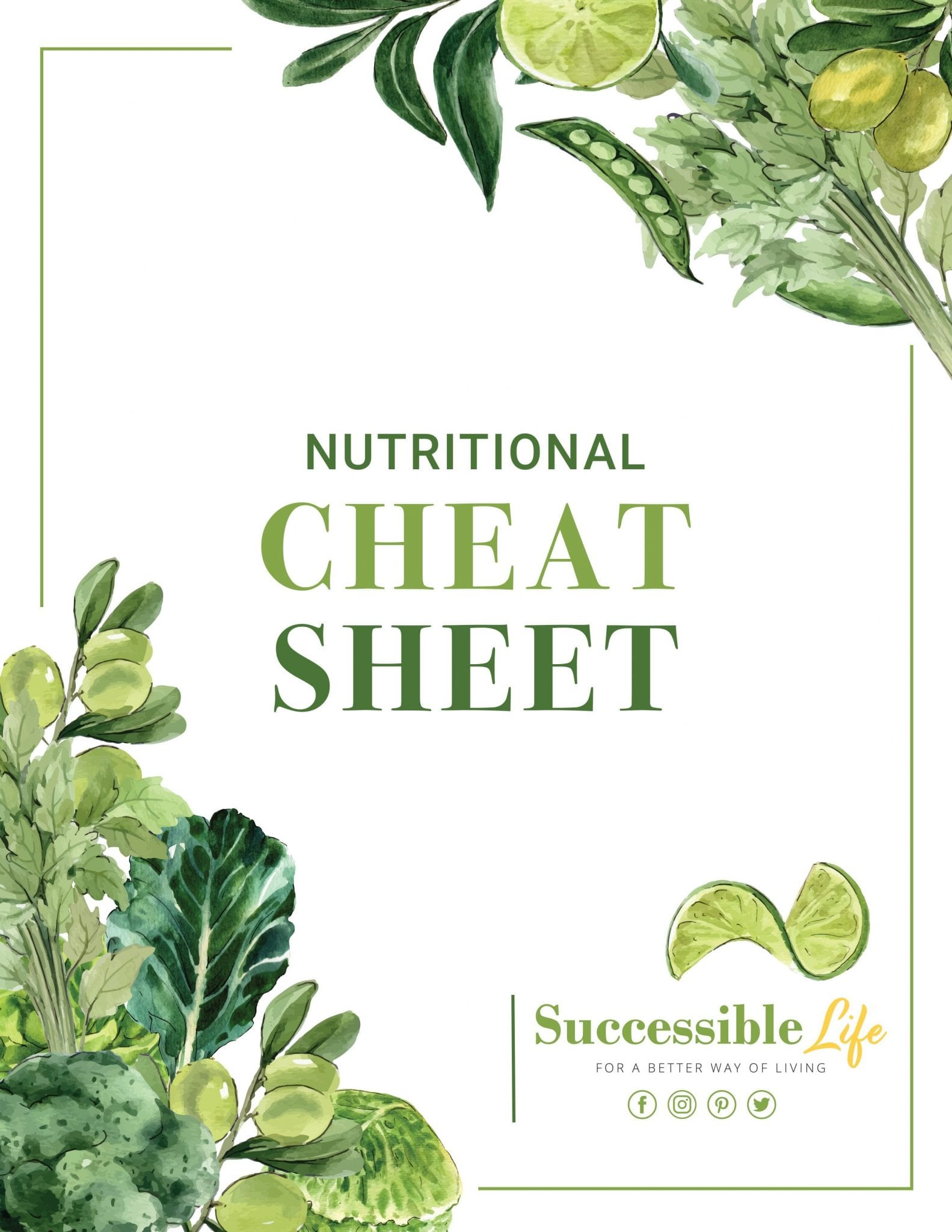 SL - Nutritional Cheat Sheet (Cover)