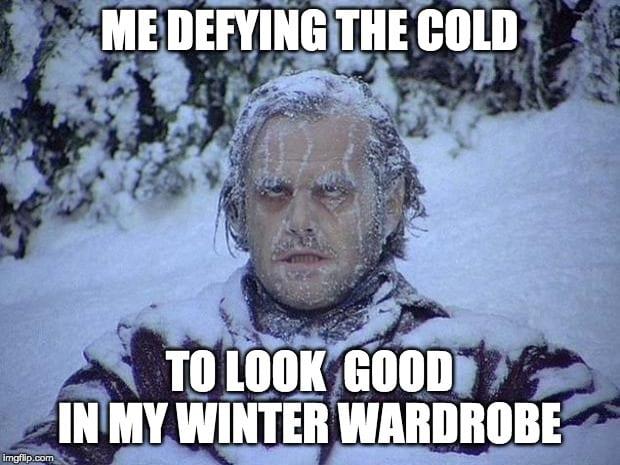Jack Nicholson The Shining Snow Meme