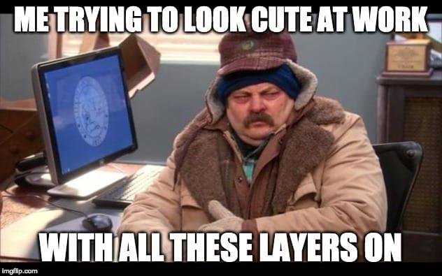 Ron Swanson Cold Meme