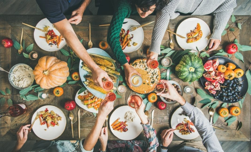 vegan thanksgiving menu