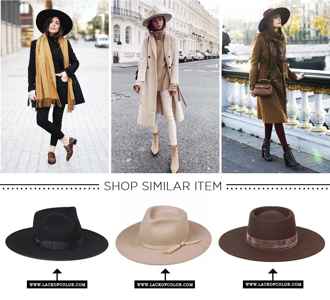 Winter Wardrobe-Fedora Hat