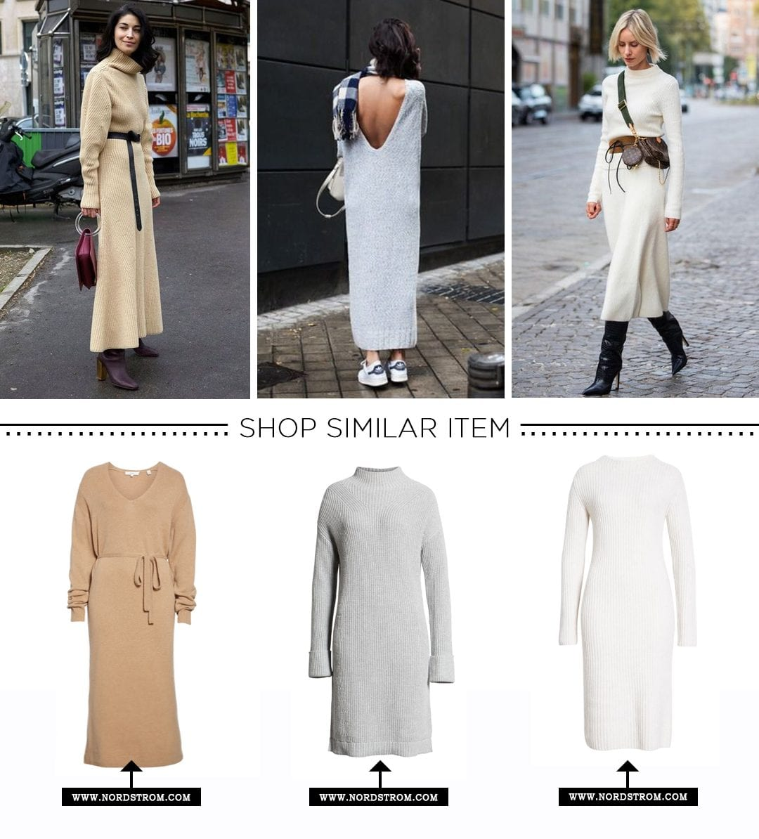 Winter Wardrobe-Knit Dress