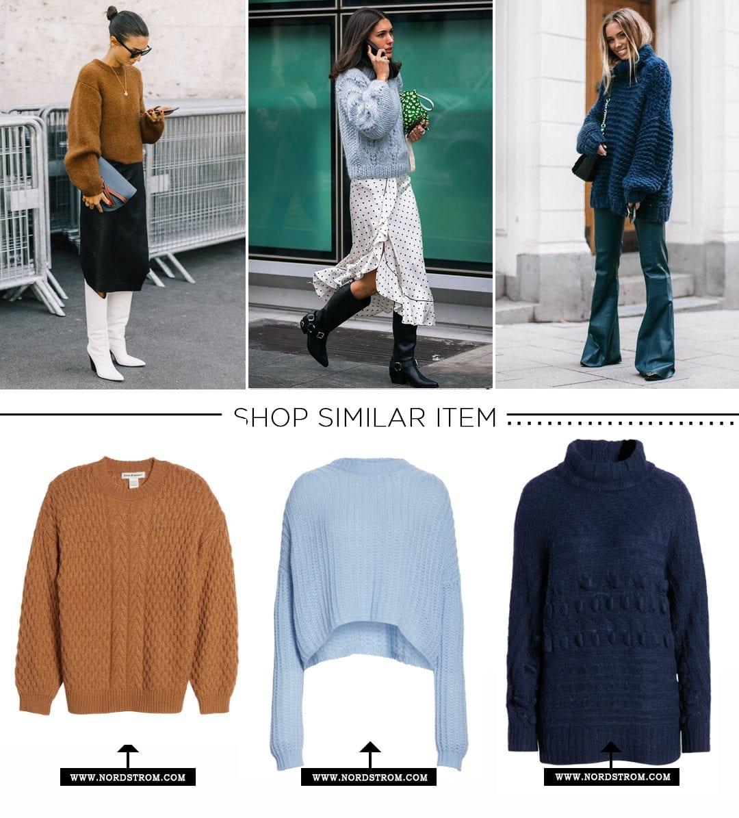 Winter Wardrobe-Knit Sweater