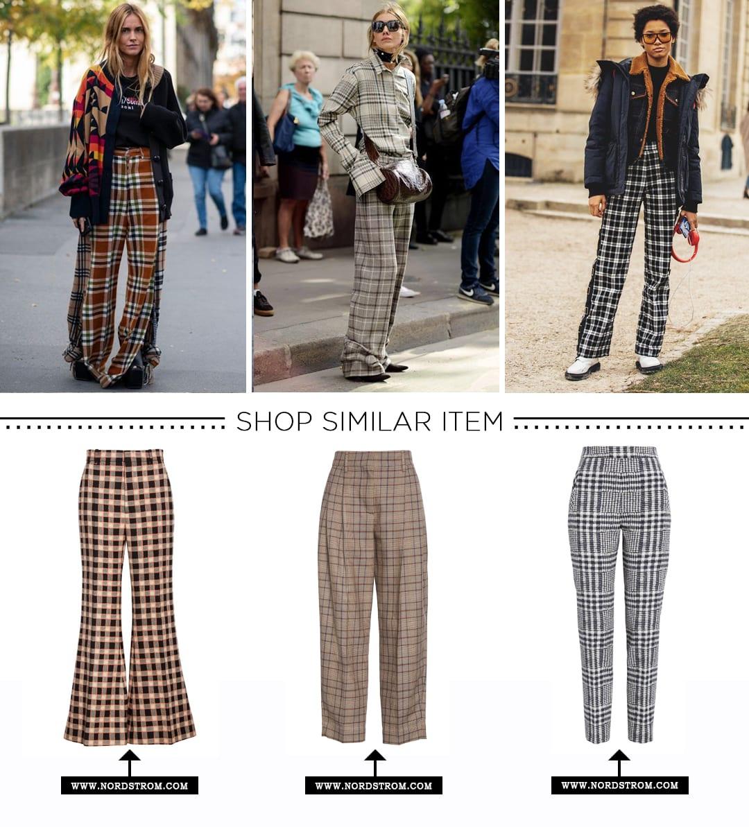 Winter Wardrobe-Plaid Trouser