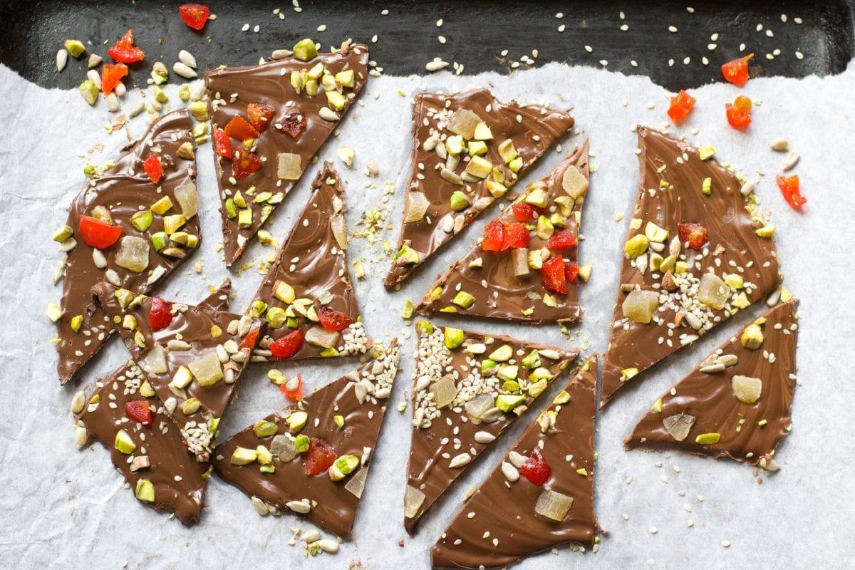 Christmas Chocolate Barks