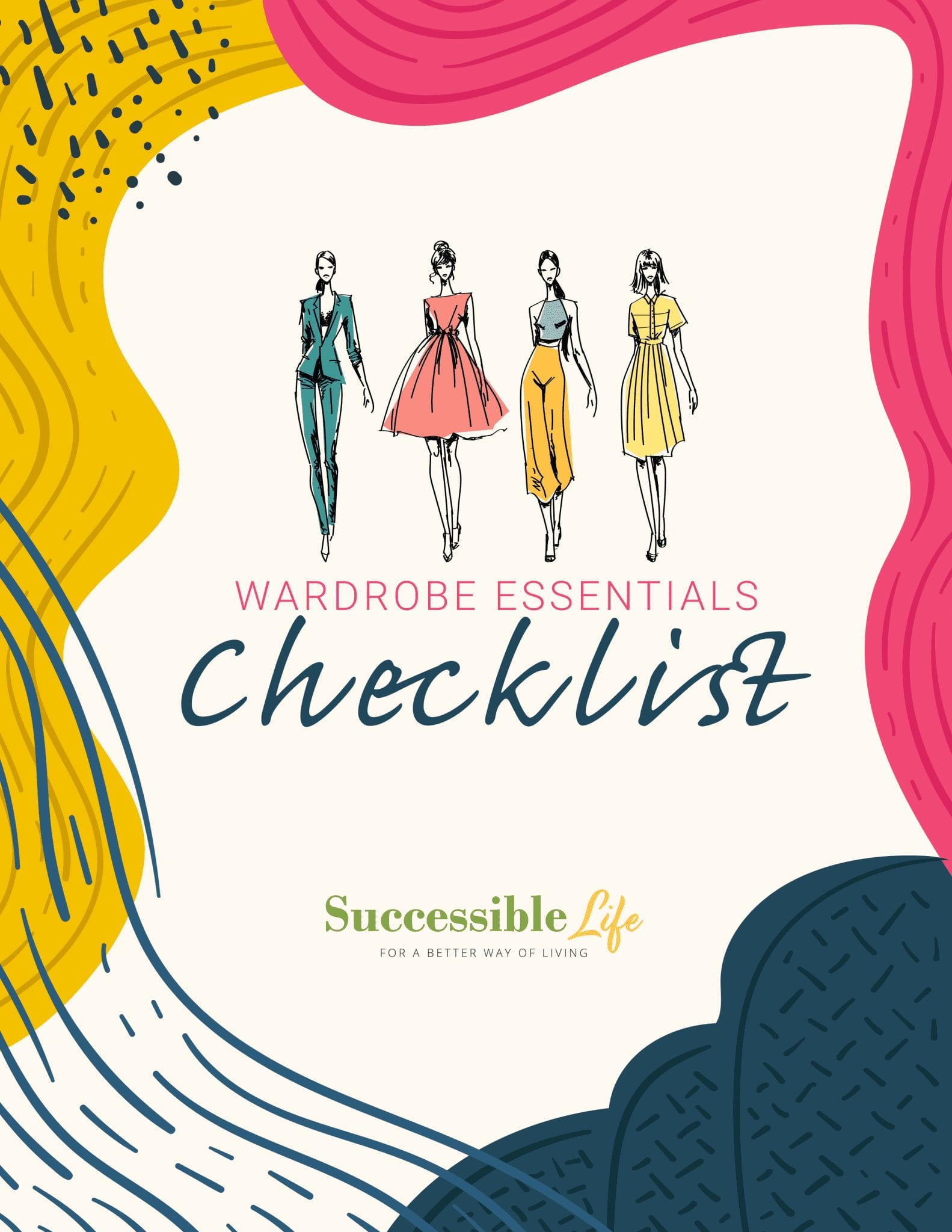 Wardrobe Essentials Checklist (Cover)