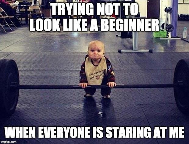 Gym Baby Meme