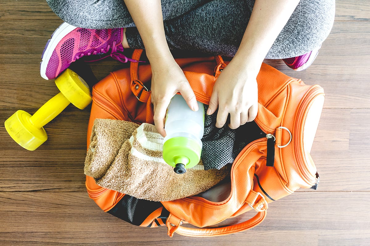 Gym Essentials for Beginners - Workout Bag