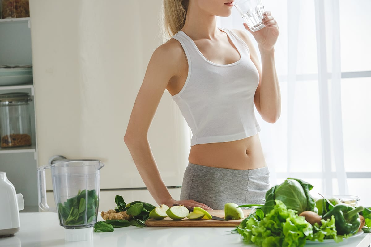 Losing Weight Eating Greens