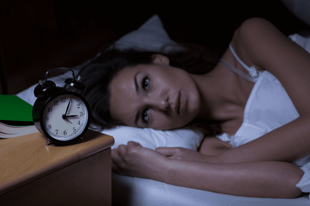 Woman Suffering From Insomnia