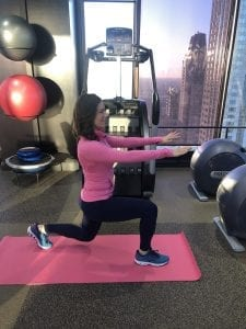 Lunge with a twist 1