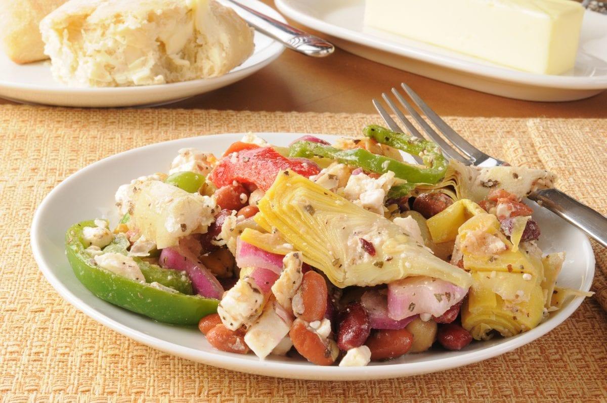 Greek Artichoke Salad