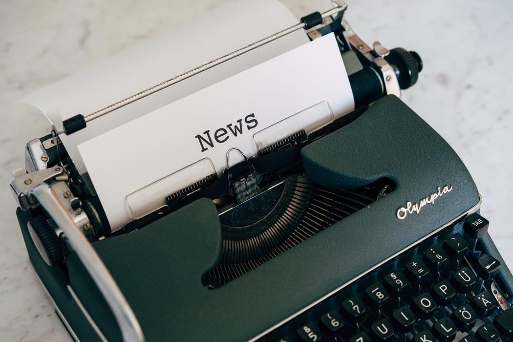 News on Typewriter