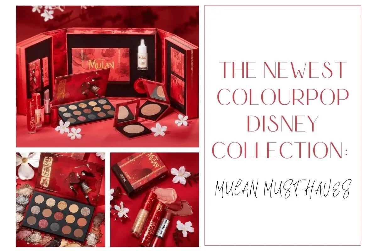 ColourPop Disney Mulan Feature Image